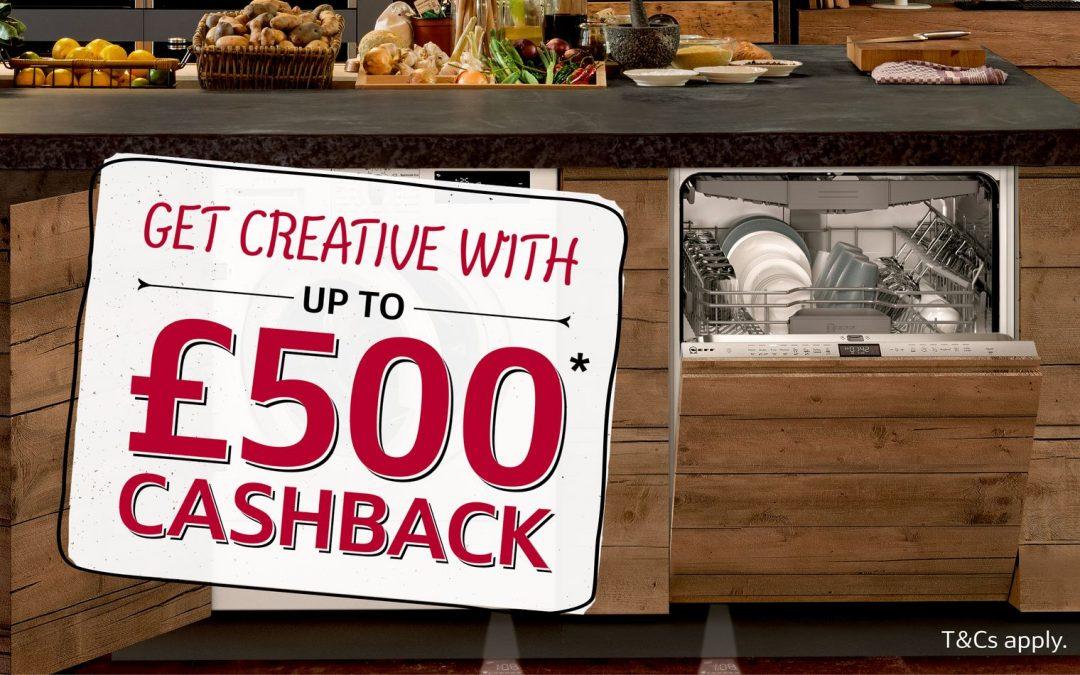 Neff Kitchen Appliances: Up to £500* Cashback 2018