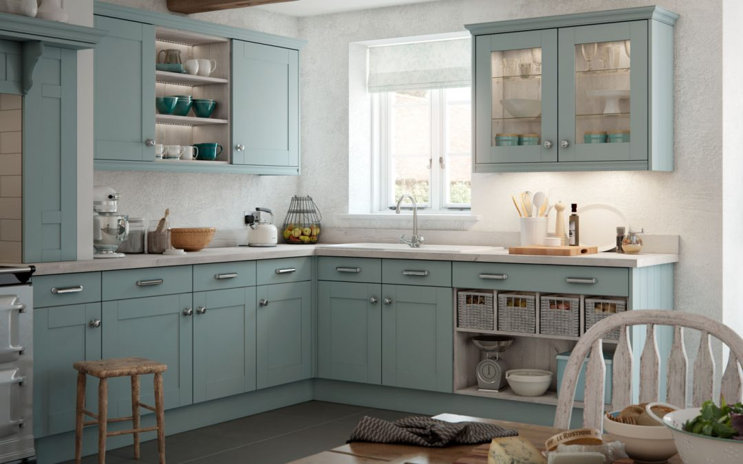 The English Revival of Traditional Kitchens: Great British Bake Off