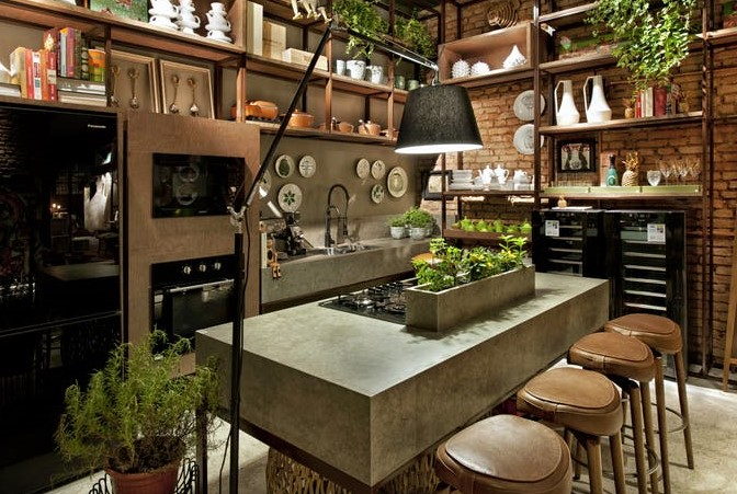 Kitchens of Design Tough Luxe