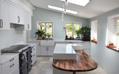 LIGHT AND AIRY SHAKER KITCHEN