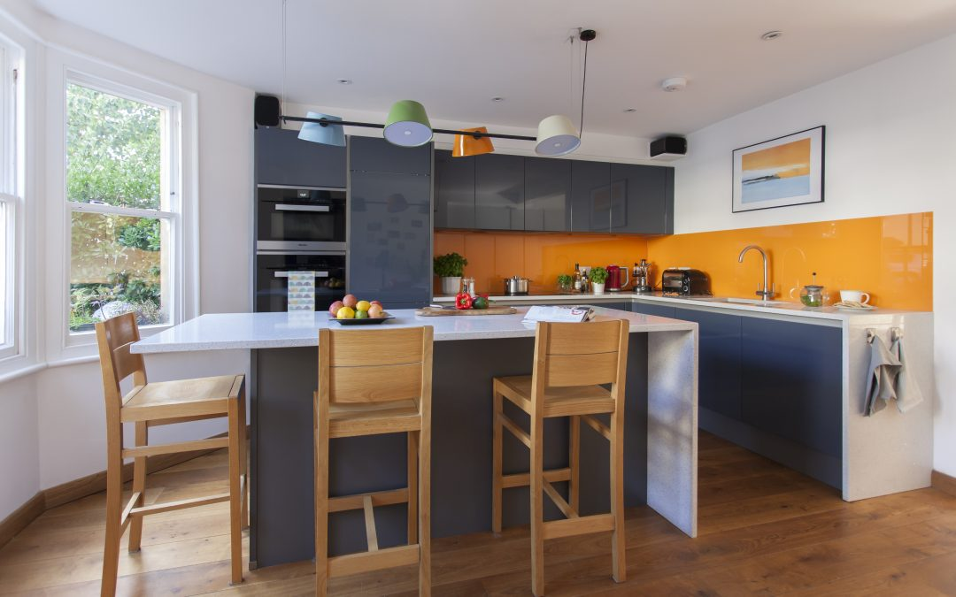 COLOURFUL QUIRKY MODERN KITCHEN