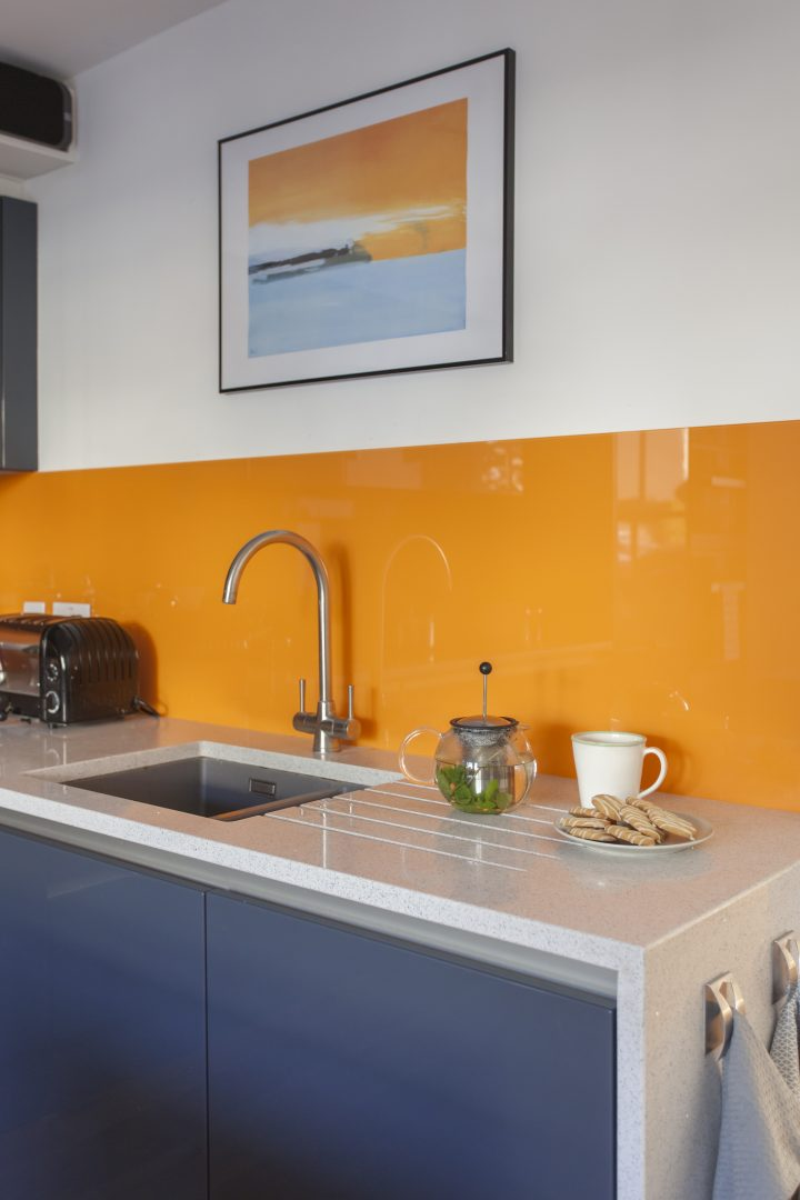 colourful quirky kitchen